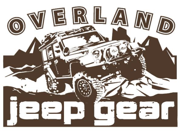 OVERLAND JEEP- Logo